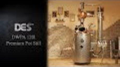 120 L DWPA kazan za proizvodnju džina
